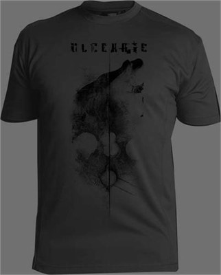 "Ulcerate - The Destroyers Of All ""Elk"" Grey Short Sleeve Tshirt"