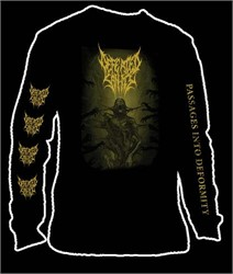 Defeated Sanity - Passages Into Deformity Longsleeve Tshirt