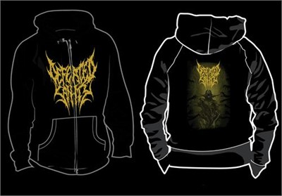 Defeated Sanity - Passages Into Deformity Zip-Up Hoodie
