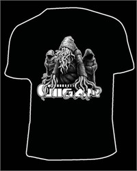 Gigan - Multi-Dimensional Fractal-Sorcery And Super Science Black Tshirt