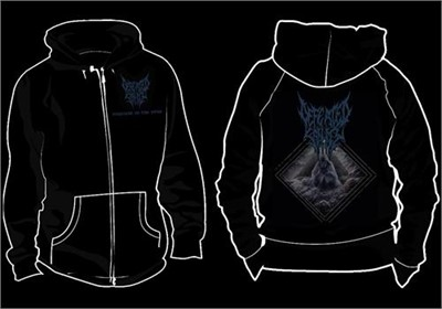 "Defeated Sanity - ""Disposal Of The Dead"" Zip-Up Hoodie"