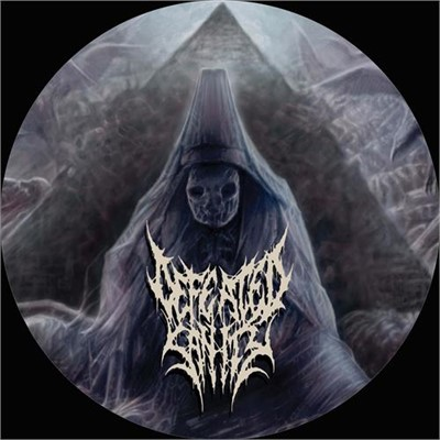 "Defeated Sanity - ""Disposal Of The Dead"" Record Player Slipmat"
