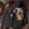 Unfathomable Ruination - Enraged And Unbound Zip Up Hoodie Tshirt